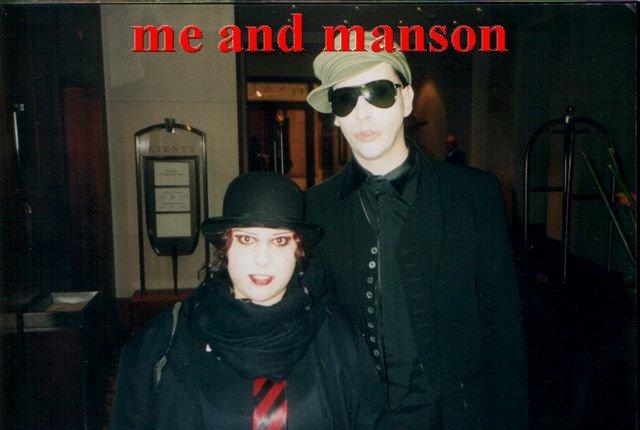 Meeting Marilyn Manson
