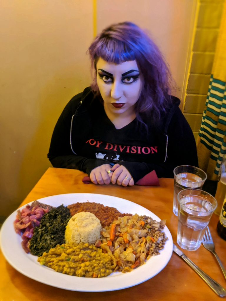 Eating out when you need to control what you eat - DeviantSuccubus and Ethiopian food